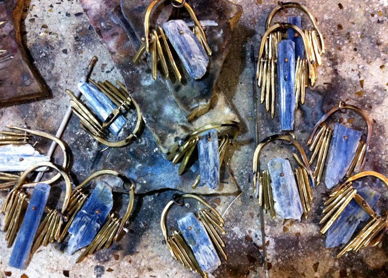 Suzannah Wainhouse crystals jewelry